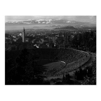 California Memorial Stadium, UC Berkeley, 1966 Postcard