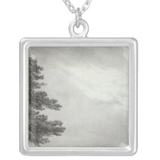 California Mission Silver Plated Necklace