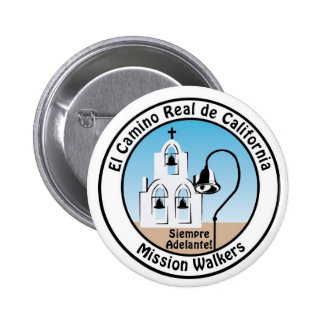 California Mission Walkers Button