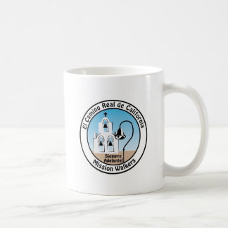 California Mission Walkers mug (two logo)