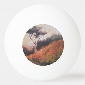 California Monterey Cypress Lone Tree Ping Pong Ball