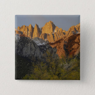 California, Mount Whitney, Inyo National Forest 3 15 Cm Square Badge
