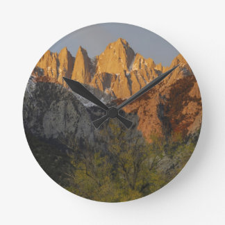 California, Mount Whitney, Inyo National Forest 3 Round Clock