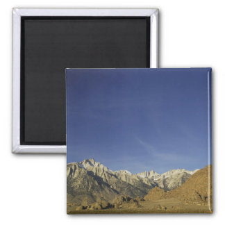 California, Mount Whitney, Inyo National Forest Square Magnet