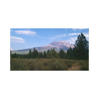 California Mountain Stretched Canvas Prints
