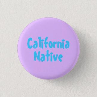 California Native 3 Cm Round Badge