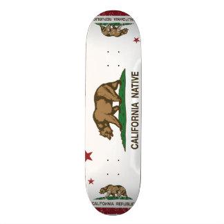 California Native Republic Flag Skateboard Decks