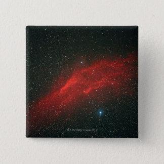 California Nebula 15 Cm Square Badge