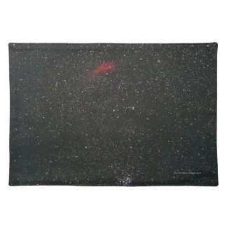 California Nebula and Pleiades Placemat