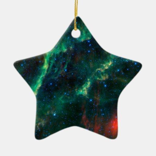 California Nebula & Star Menkhib Christmas Ornaments