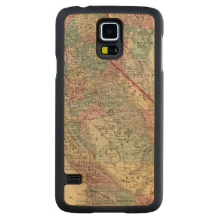 California, Nevada 2 Carved Maple Galaxy S5 Case