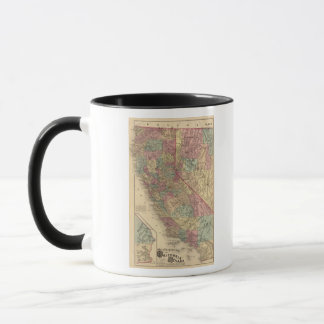 California, Nevada Mug