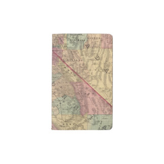 California, Nevada Pocket Moleskine Notebook