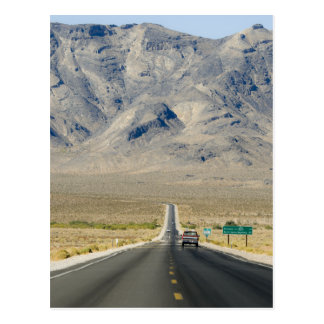 California & Nevada State Line Postcard