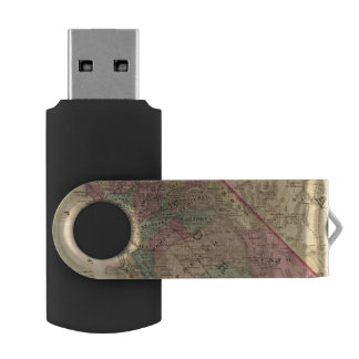 California, Nevada USB Flash Drive