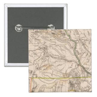 California, Oregan, Utah, New Mexico 15 Cm Square Badge