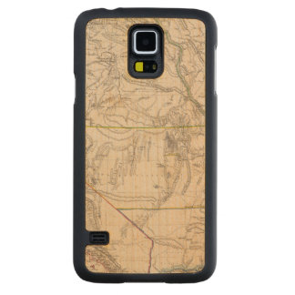 California, Oregan, Utah, New Mexico Carved Maple Galaxy S5 Case