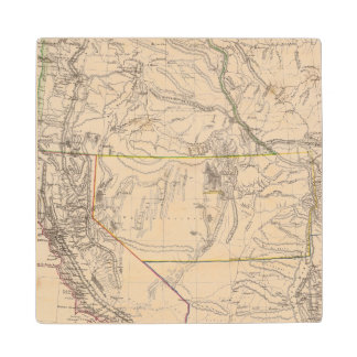 California, Oregan, Utah, New Mexico Wood Coaster