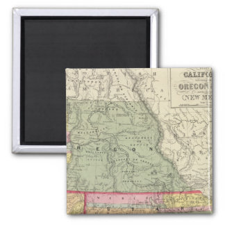 California, Oregon, Utah, New Mexico 2 Magnet