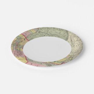 California, Oregon, Utah, New Mexico 2 Paper Plate