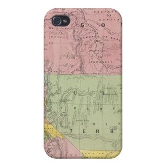 California, Oregon, Utah, New Mexico 3 Case For The iPhone 4