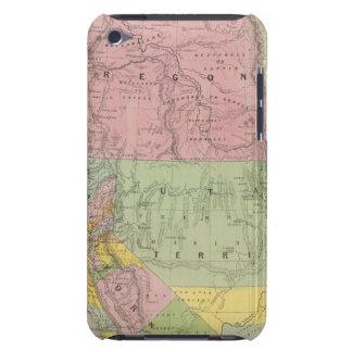 California, Oregon, Utah, New Mexico 3 iPod Case-Mate Cases