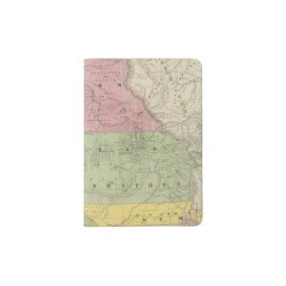 California, Oregon, Utah, New Mexico 3 Passport Holder