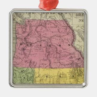 California, Oregon, Utah, New Mexico Christmas Ornament