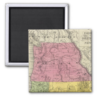 California, Oregon, Utah, New Mexico Magnet