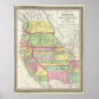 California, Oregon, Washington, Utah, New Mexico 3 Poster