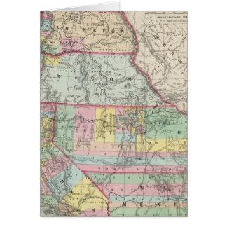 California, Oregon, Washington, Utah, New Mexico 4 Card