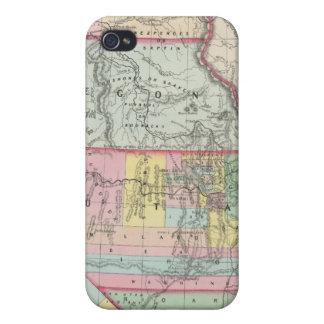 California, Oregon, Washington, Utah, New Mexico 4 iPhone 4/4S Cover