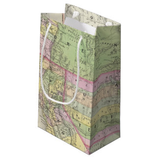 California, Oregon, Washington, Utah, New Mexico 6 Small Gift Bag