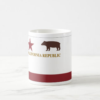 California Original State Flag Basic White Mug