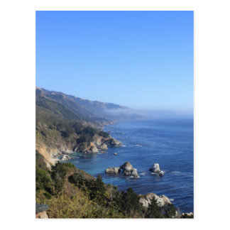 California Pacific Coast Highway Postcard
