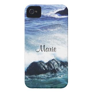California Pacific Ocean Coastline Personalized iPhone 4 Covers