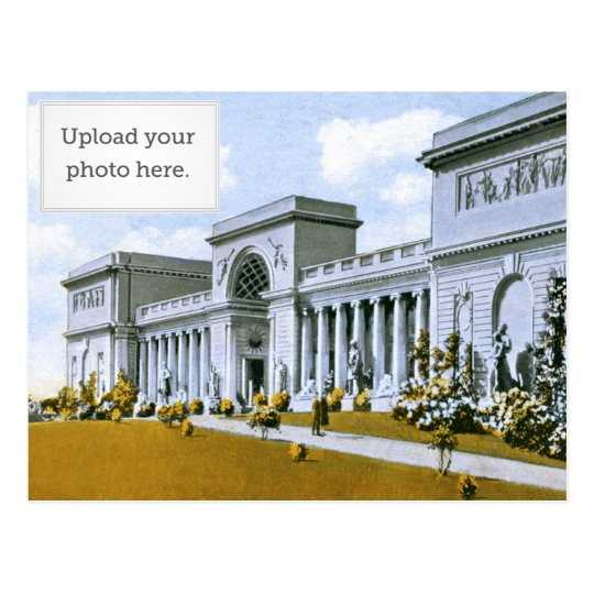 California Palace of the Legion of Honour Postcard
