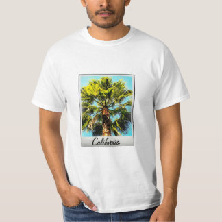 California Palm Tree Photograph T-Shirt