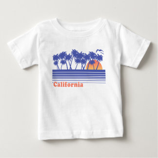 California Palm Trees Baby T-Shirt
