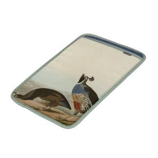 California Partridge MacBook Sleeves