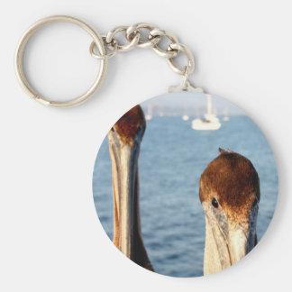 California Pelicans Key Chain