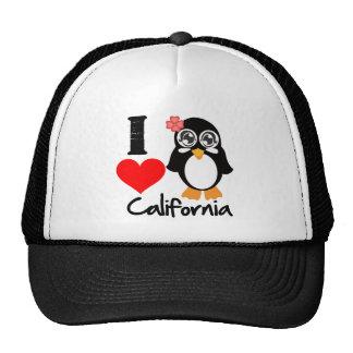 California Penguin - I Love California Cap