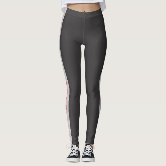 California Pink and Grey Leggings