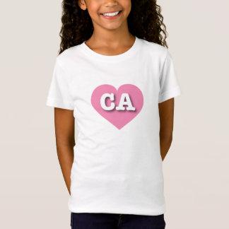 California Pink Heart - Big Love T-Shirt