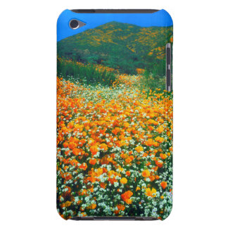California Poppies and Popcorn wildflowers Barely There iPod Cover