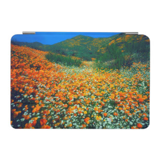 California Poppies and Popcorn wildflowers iPad Mini Cover
