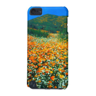 California Poppies and Popcorn wildflowers iPod Touch (5th Generation) Case