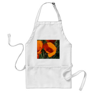 California Poppies Adult Apron