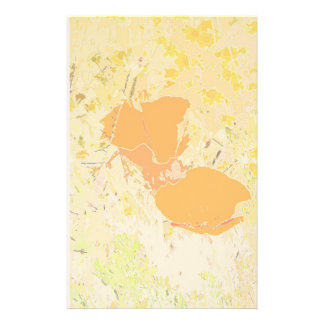 California Poppies Art Stationery