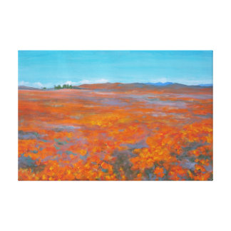 California Poppies Canvas Prints